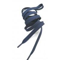 Шнур темно-синий с металлическим наконечником в тон