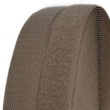 Лента контактная (липучка) коричневая