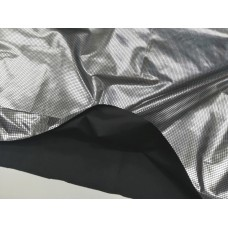 Фольгированный подклад черный