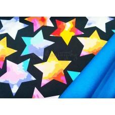 Софтшелл 3-х слойный Звезды