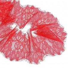 Кружево реснички красные (шир 150мм)
