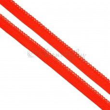 Резинка Ажурная красная 10мм