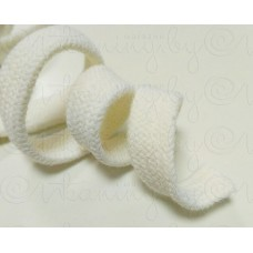 Шнур хлопковый молочный 15 мм