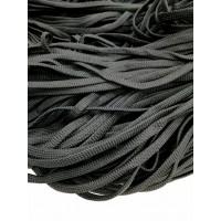 Шнур ПЭ черный 8мм