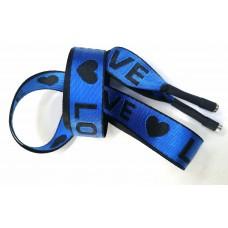 Шнур LOVE синий