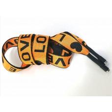 Шнур LOVE оранжевый